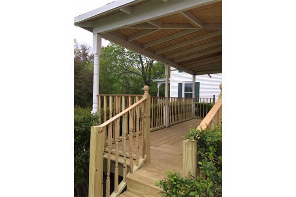 deck installation Glastonbury CT