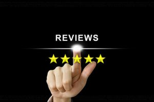 reviews star logo